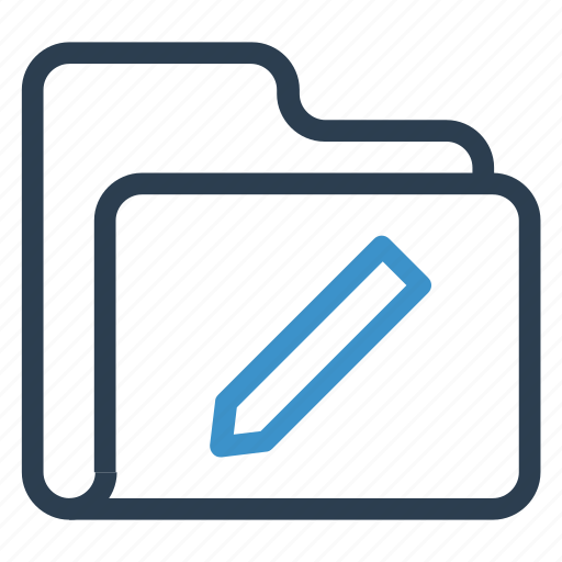 archive, data, edit, folder, storage icon