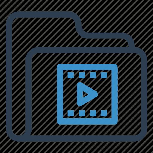 archive, data, folder, folmreel, storage icon