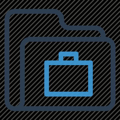 archive, data, folder, portfolio, storage icon
