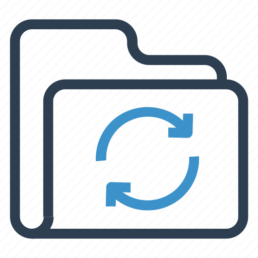 archive, data, folder, reload, storage icon