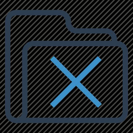 archive, data, folder, remove, storage icon