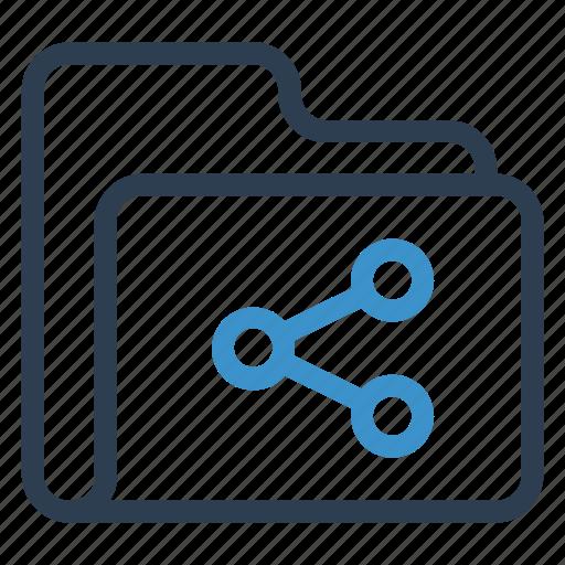 archive, data, folder, share, storage icon