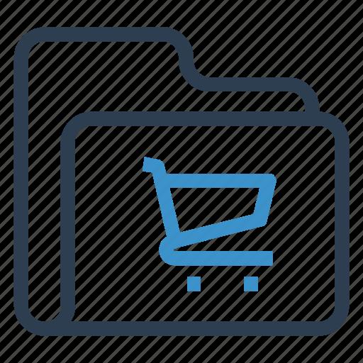 archive, data, folder, shoping, storage icon