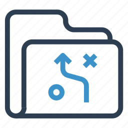 archive, data, folder, storage, strategy icon