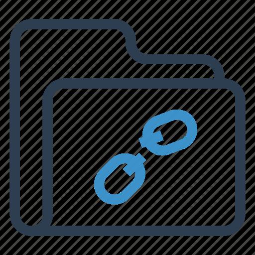 archive, data, folder, storage, unlink icon