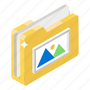 gallery folder, image folder, picture folder, image file, photos folder icon