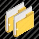 archives, binders, document, files, folders