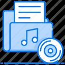 audio files, data folder, file, folder, media folder, music folder