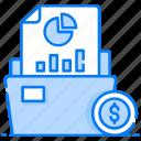 business folder, data folder, file, folder, graphical folder