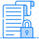 data safety, document protection, file encryption, locked file, secure file