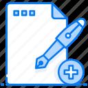 add document, add file, compose file, new document, new file