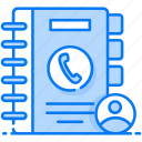 address book, contacts, contacts book, phone book, phone directory