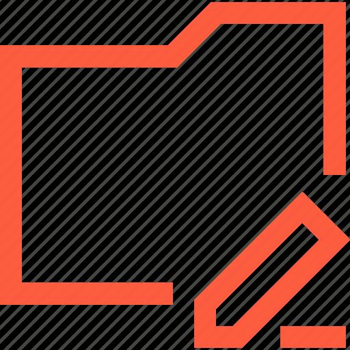 change, correct, data, directory, edit, folder icon