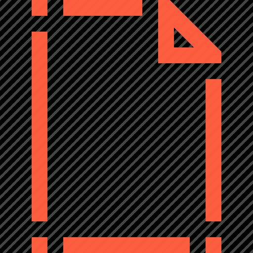 doc, document, file, layout, mockup, shaping icon