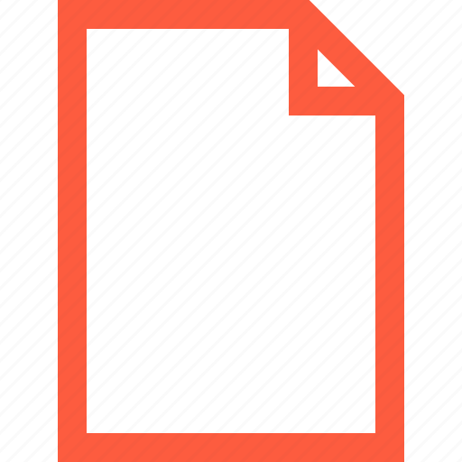 blank, doc, document, empty, file, paper, sheet icon