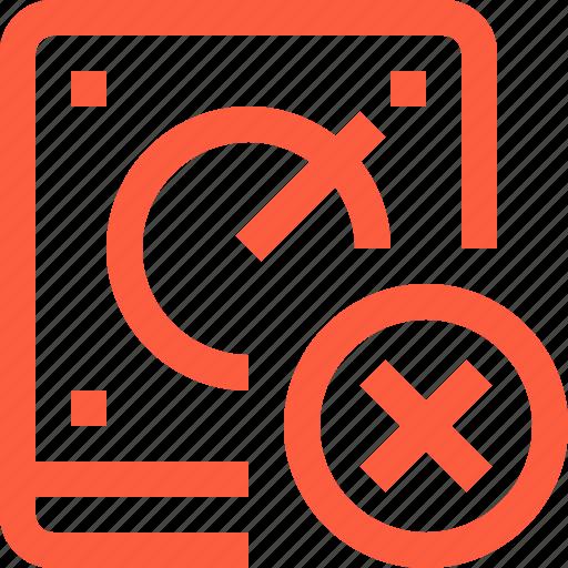 data, error, fail, fatal, hdd, mistake, storage icon