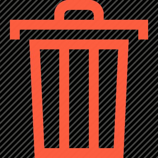 Bin, can, clean, dustbin, empty, garbage, trash icon - Download on Iconfinder