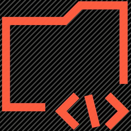 command, data, directory, folder, programing, script, terminal icon