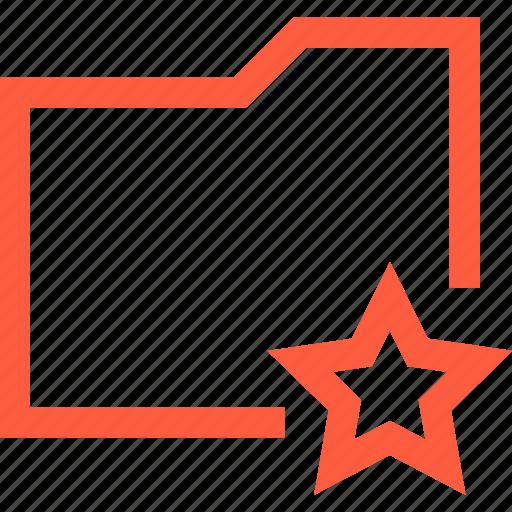 data, directory, favorite, folder, rate, start icon