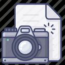 document, file, photo, picture icon
