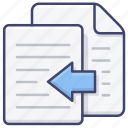 copy, document, duplicate, file icon