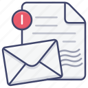 document, email, file, mail