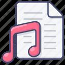 file, music, player, playlist