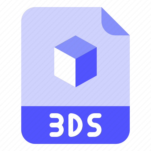 3ds, digital, extension, file, format icon - Download on Iconfinder