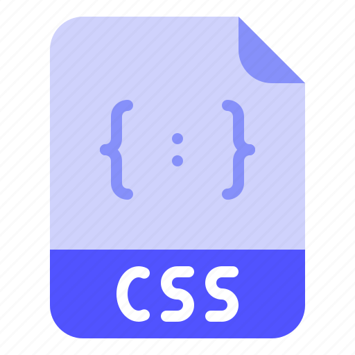 Css, digital, extension, file, format icon - Download on Iconfinder