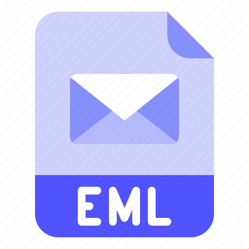 Email, eml, extension, file, format icon - Download on Iconfinder