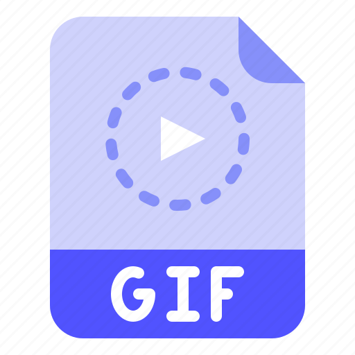 Digital, extension, file, format, gif icon - Download on Iconfinder