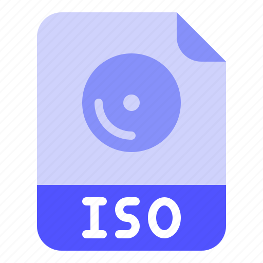 Digital, extension, file, format, iso icon - Download on Iconfinder