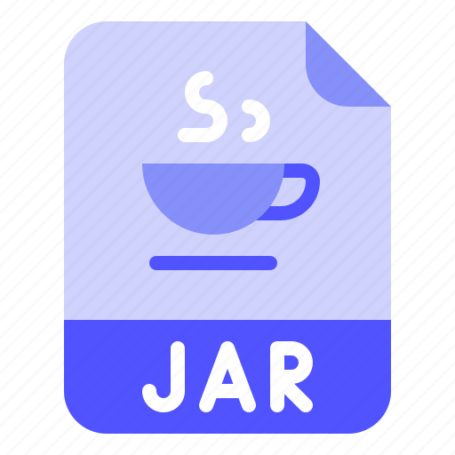 Extension, file, format, jar, java icon - Download on Iconfinder