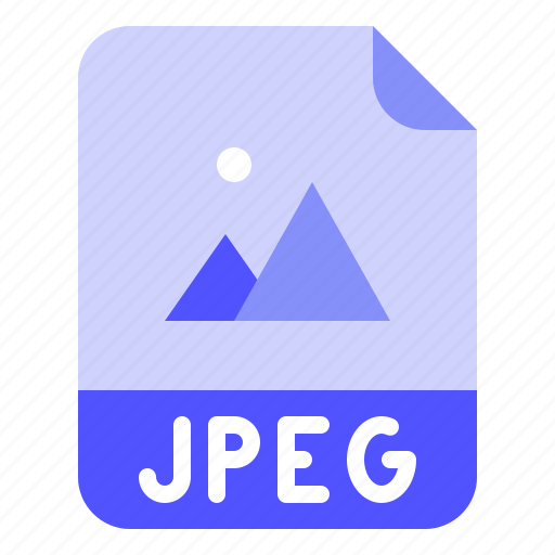 Extension, file, format, jpeg, photo icon - Download on Iconfinder