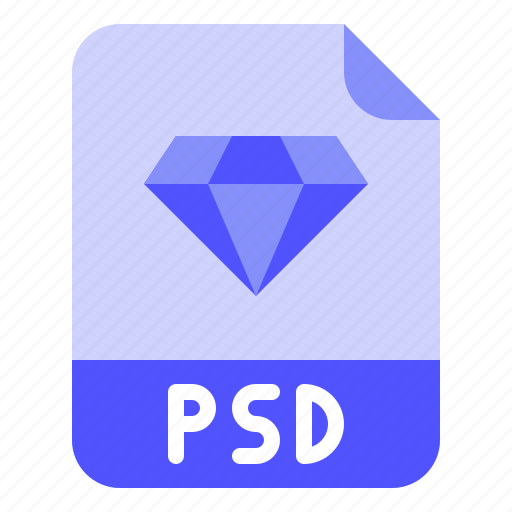 Digital, extension, file, format, psd icon - Download on Iconfinder