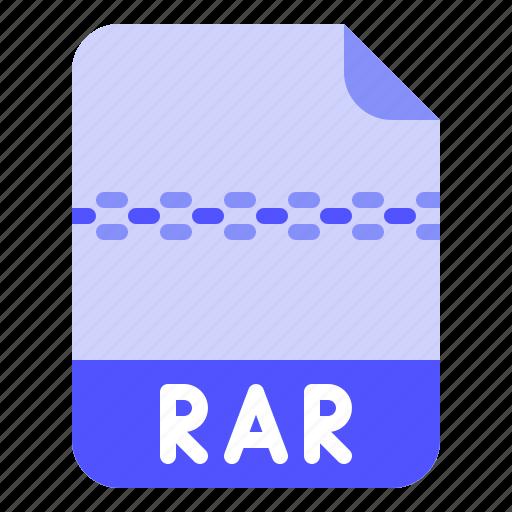 Digital, extension, file, format, rar icon - Download on Iconfinder