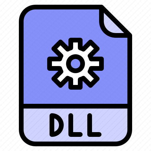 Digital, dll, extension, file, format icon - Download on Iconfinder