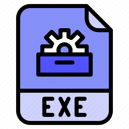 Digital, exe, extension, file, format icon - Download on Iconfinder