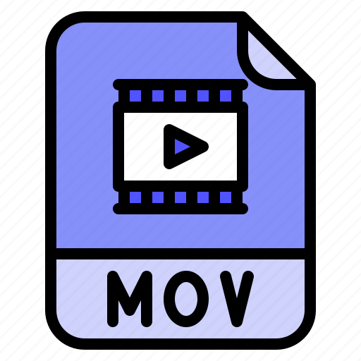 Digital, extension, file, format, mov icon - Download on Iconfinder