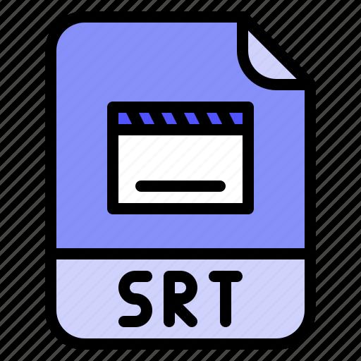 Digital, extension, file, format, subtitle icon - Download on Iconfinder