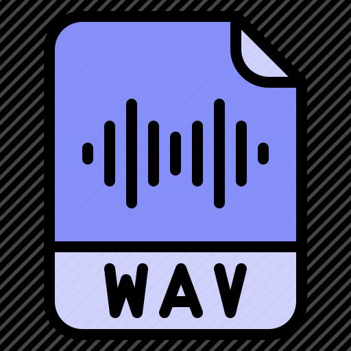 Digital, extension, file, format, wav icon - Download on Iconfinder