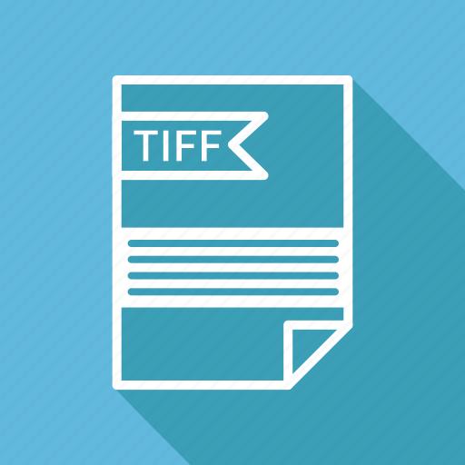 document, extension, folder, format, paper, tiff icon