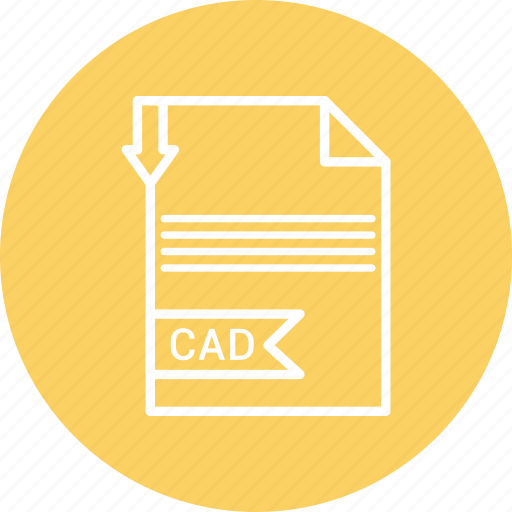 cad, document, file, format, type icon