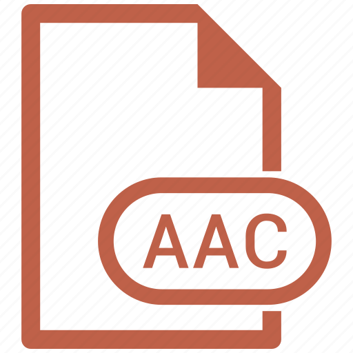 aac, file icon
