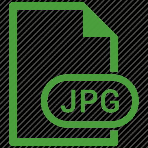 file format, image, jpg icon