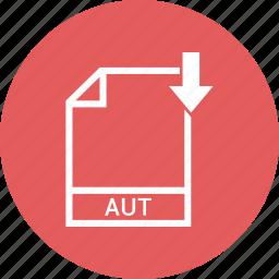 aut, document, file, format, type icon