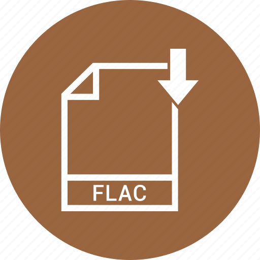 document, file, flac, format, type icon