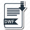 document, dwf, extension, file