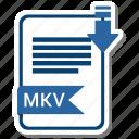 document, extension, folder, mkv, paper
