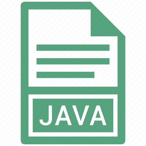 extension, file, file format, java icon